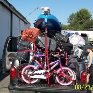 How a Tetris family packs for 10 days in Yosemite