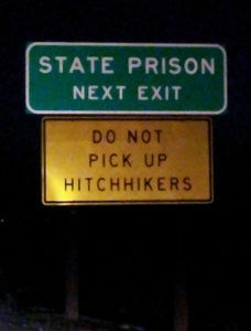prison hitchhikers