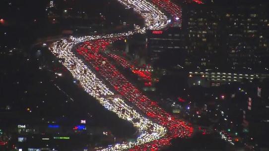 holiday traffic S. California
